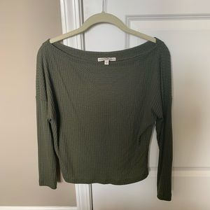 Express Waffle Cropped Tee